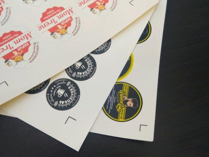stiker vinyl surabaya, jasa cetak surabaya